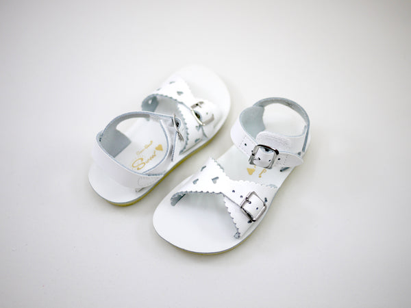 Saltwater Sweetheart White (Velcro)