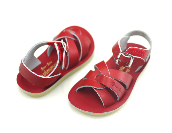 Saltwater Swimmer Kids Red (Velcro)