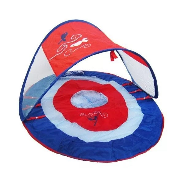 Swimways Baby Spring Float - Royal Blue Boat