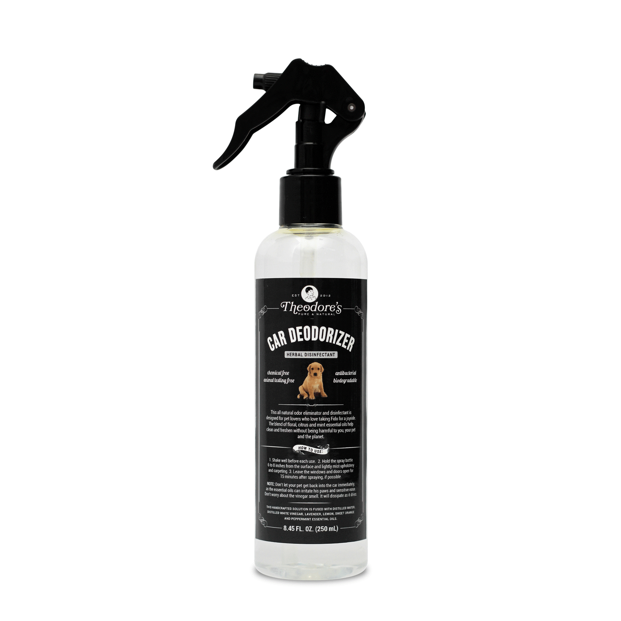 Theodore's Car Deodorizer Herbal Disinfectant - 250ml