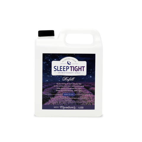 Theodore's Sleep Tight Aromatherapy Spray (Lavender & Chamomile Blend) - 1Liter