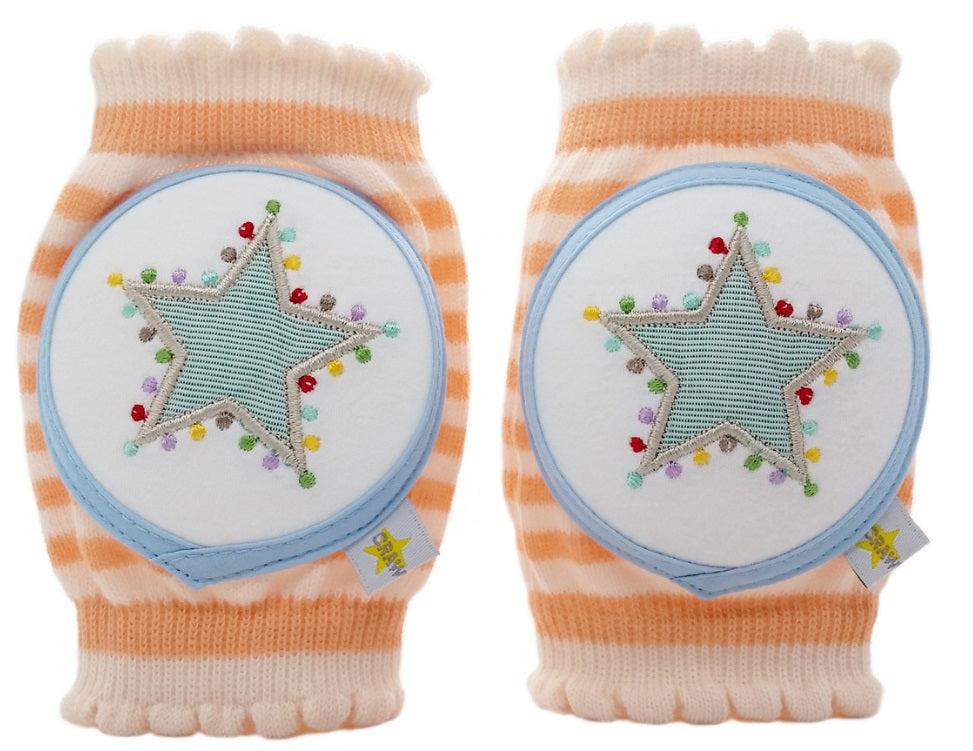 Tangerine Star Knee Pads