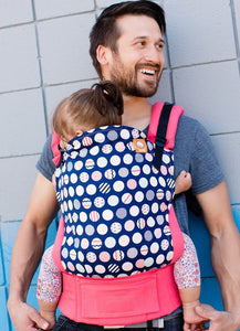 Tula Baby Carrier Trendsetter Coral