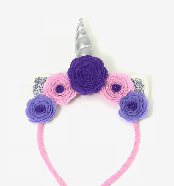 Blooms Republic Unicorn Headbands Silver