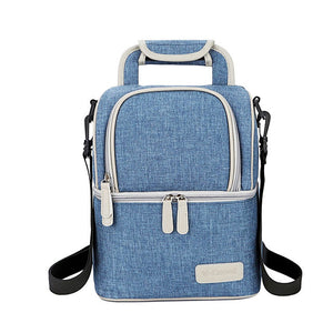 V-Coool Cooler Bag Deluxe Love House - Blue