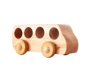 Seed Studio Toys Wooden Bus