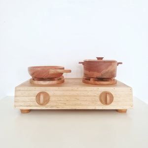 Seed Studio Toys Wooden Stove
