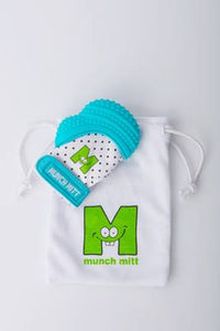 Munch Mitt Aqua Blue