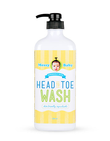 Messy Bessy Head-To-Toe Wash 500 ml
