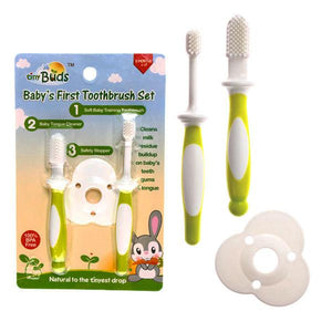 Tiny Buds Baby's First Toothbrush Set
