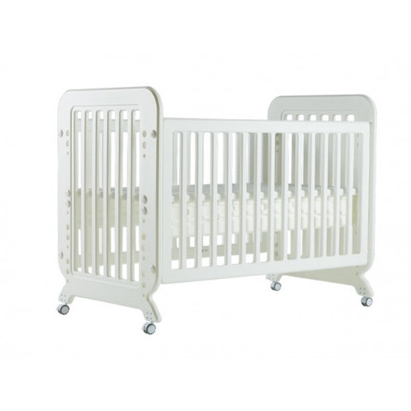 Cuddlebug Bailey 2in1 Crib - White