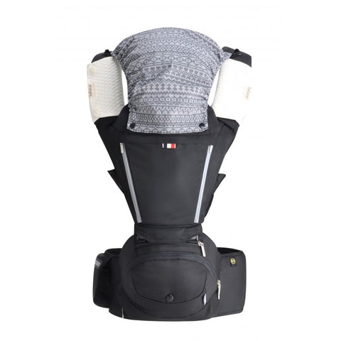 AX Foldable Aluminum Hip Seat Carrier