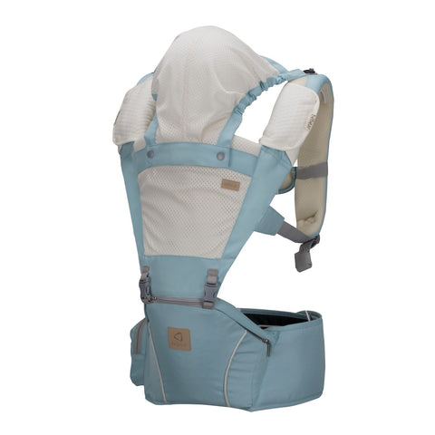 Bebear 5-in-1 Mesh Hip Seat Carrier - Blue