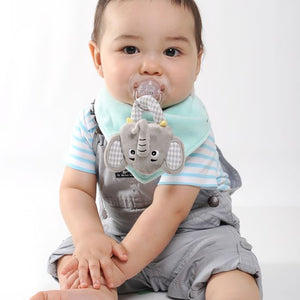 Munch Mitt Bib Eli the Elephant