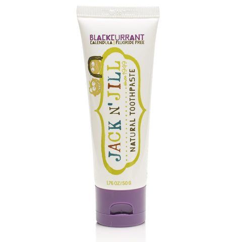 Jack N' Jill Natural Toothpaste - Blackcurrant