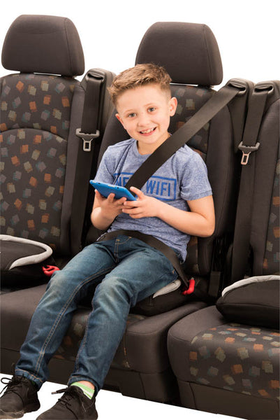 Bubble Bum Inflatable Car Booster Seat - Black