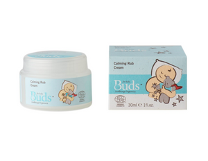 Buds Baby Organics Calming Rub Cream 30ml