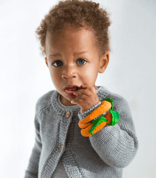 Oli & Carol Fruits and Veggies Teether - Cathy the Carrot