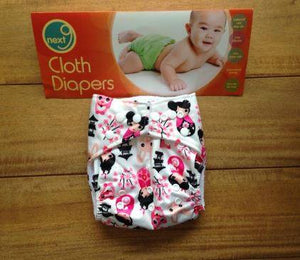 Next9 Cloth Diaper (Assorted design)