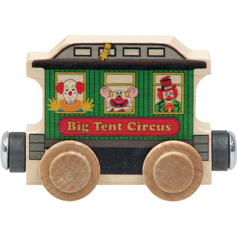 Maple Landmark Name Train Circus Wagon
