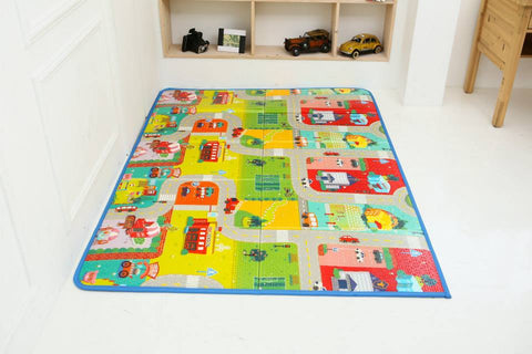 Funnylon 140 Folding Playmat - City Tour