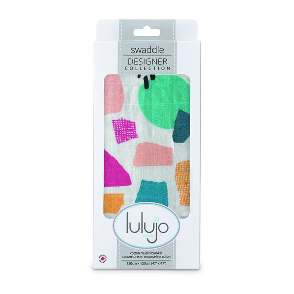 Lulujo Cotton Muslin (Single) - Paper Cut