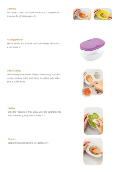 Combi Baby Label: Cooking Set