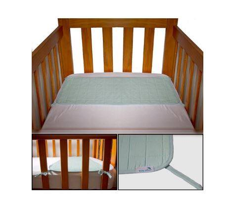 Brolly Sheets Waterproof Cot Pad w/ Ties