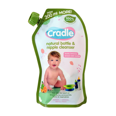 Cradle Nipple and Bottle Cleanser - 500ml