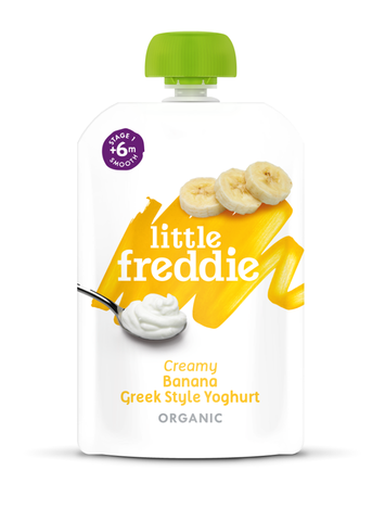 Little Freddie 100g Creamy Banana Greek Style Yoghurt