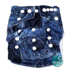 Next9 Cloth Diaper Denim
