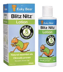 Euky Bear Blitz Nitz Lice Lotion 200ml