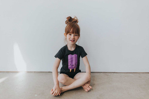 Whistle & Flute Kawaii Ice Pop T-shirt - Purple