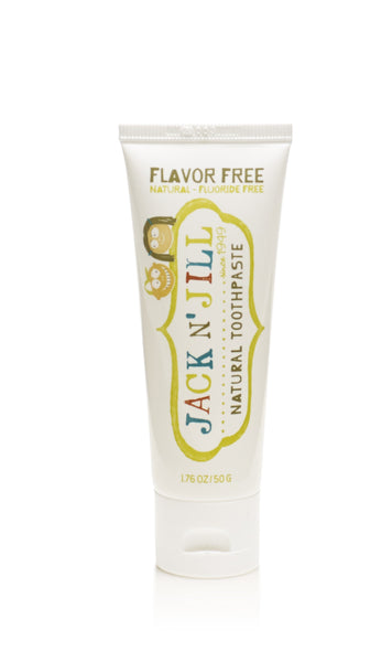 Jack N' Jill Natural Toothpaste - Flavor Free