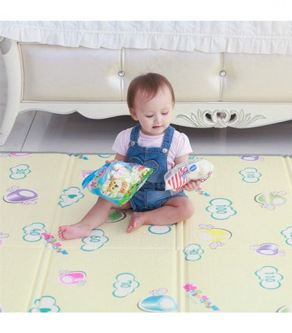 Funnylon 140 Folding Playmat - Marshmallow Dream
