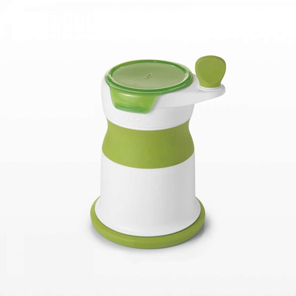 Oxo Tot Baby Food Mill w/ Silicone Feeding Spoon Set