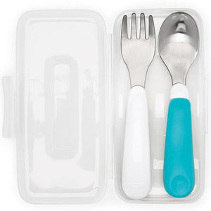 Oxo Tot ON-The-Go Fork & Spoon