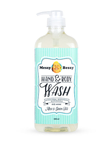 Messy Bessy Hand and Body Wash Aloe & Green Tea 500 ml