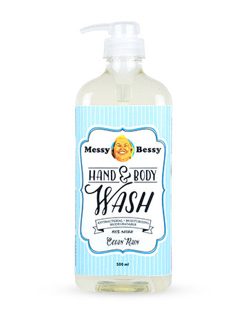 Messy Bessy Hand and Body Wash Ocean Rain 500 ml