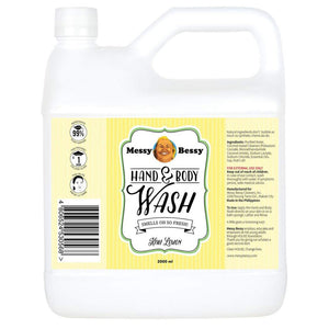 Messy Bessy Hand and Body Wash Kiwi Lemon 500 ml