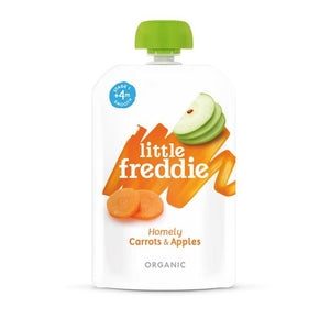 Little Freddie 100g Homely Carrots & Apples