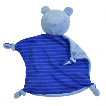 Green Sprouts Dream Window Organic Blankie Animal - Royal Bear