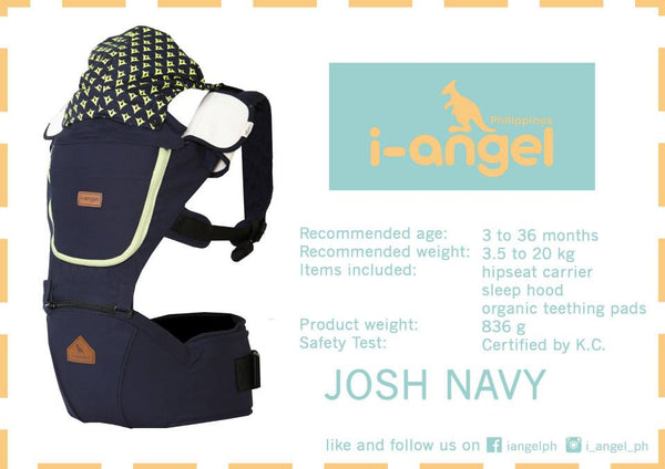 I-Angel Josh Hip Seat Carrier