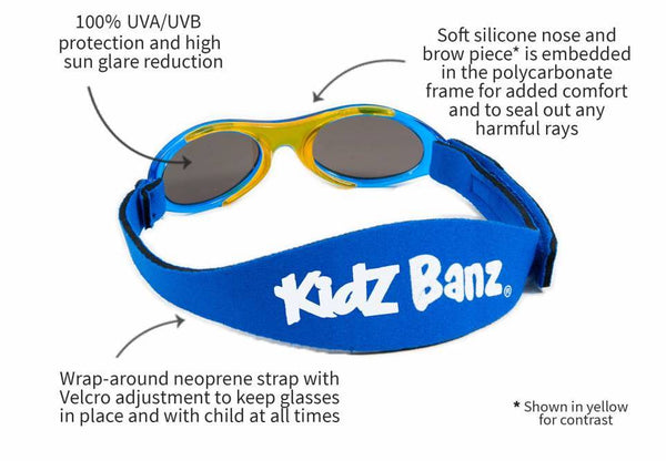 Banz Kidz Adventure Sunglasses