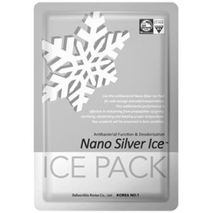 Antibacterial Reusable Nano Silver Gel Ice Pack