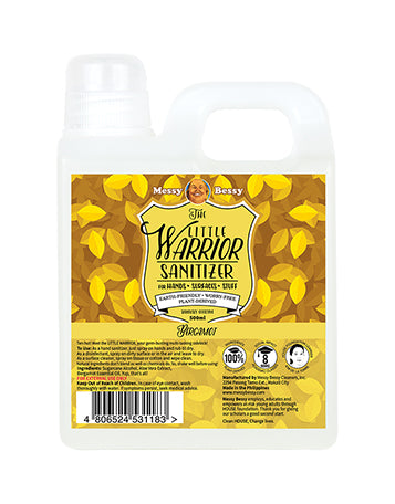 Messy Bessy The Little Warrior Bergamot 500ml