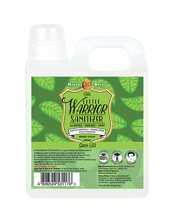 Messy Bessy The Little Warrior Green Tea 500ml