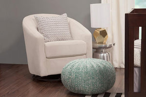 Babyletto Madison Swivel Glider - Ecru
