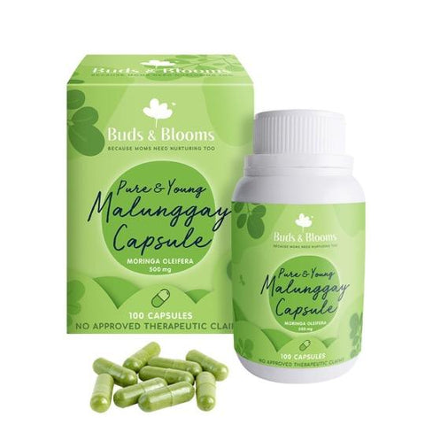 Buds & Blooms Pure & Young Malunggay Capsule 100ct