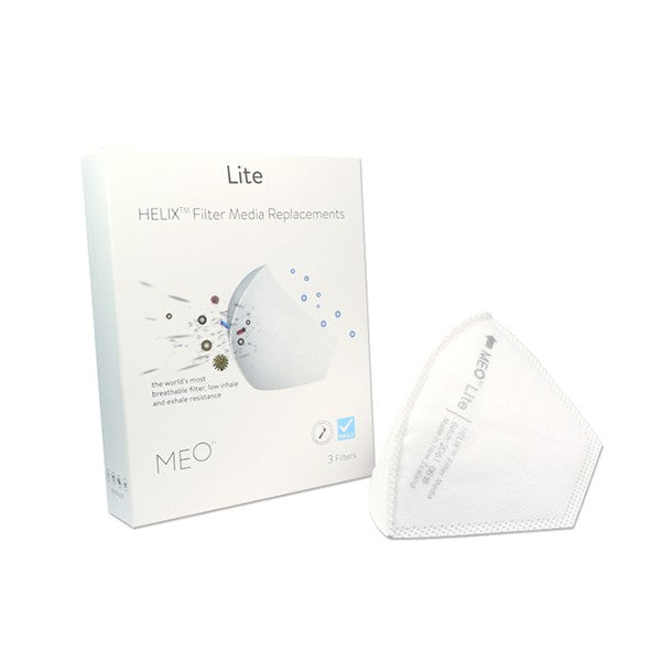 MEO Lite (Adult) Helix Filter (Pack of 3) (PRE ORDER)